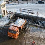 Как работают снегоплавильные пункты в Москве