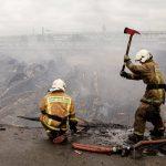 В Москве сократилось количество пожаров на стройках