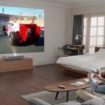 Проектор LG_CINEBEAM LASER 4K на выставке CES 2019