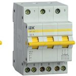 ГК IEK представляет новинку модульного оборудования: трехпозиционный выключатель–разъединитель ВРТ-63