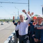 Собянин открыл движение по новому Крылатскому мосту