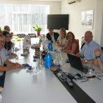 Делегация из Германии оценила вклад REHAU в подготовку стадионов для проведения ЧМ-2018