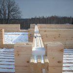 Новогодняя распродажа уплотнителя для клееного бруса -утеплитель «РАЙВ — Лайн»