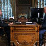 Цивилев рассказал Медведеву о сквере на месте сгоревшей «Зимней вишни»